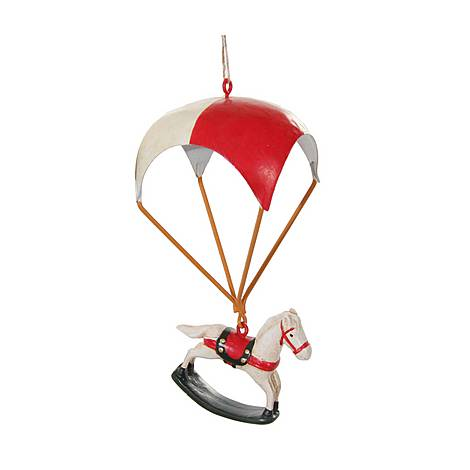 Parachute Horse Tree Decoration, ${color}