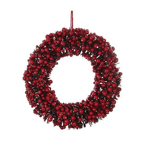 Berry Wreath 35cm, ${color}