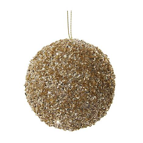 Glitter Bead Tree Decoration, ${color}
