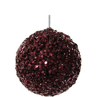 Glitter Ball Tree Decoration