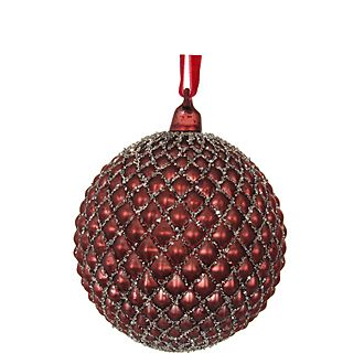 Glass Cone Bauble