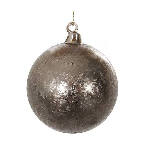 Frosted Glass Ball Tree Decoration, ${color}