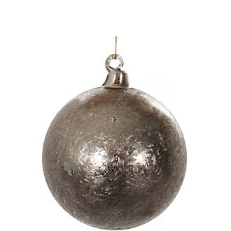 Frosted Glass Ball Tree Decoration