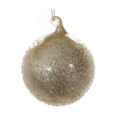 Glass Glitter Ball Tree Decoration, ${color}