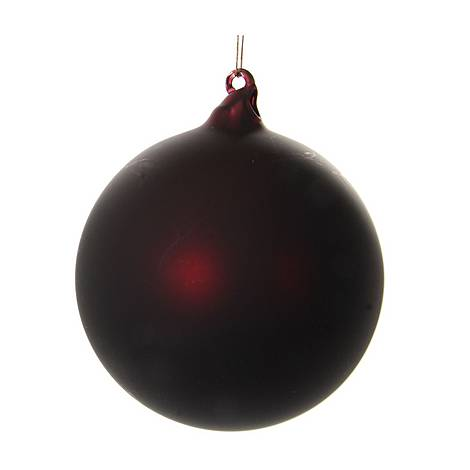 Matte Glass Ball Tree Decoration, ${color}