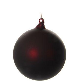 Matte Glass Ball Tree Decoration