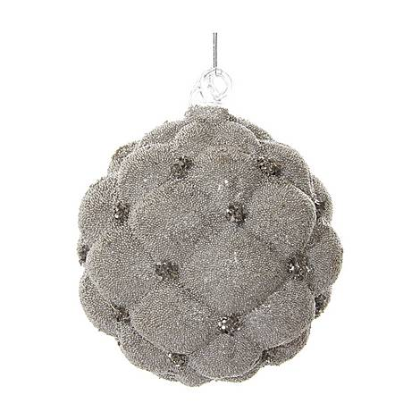 Velvet Glass Ball Tree Decoration, ${color}