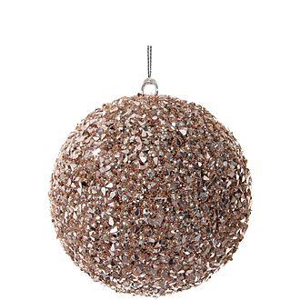Bead-Sequin Ball Tree Decoration