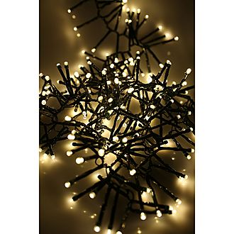 480 LED Warm White Cluster Lights