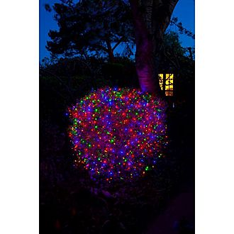 360 Fit & Forget Multicoloured Cluster Lights