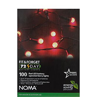 100 Fit & Forget Multi-Function Battery Lights