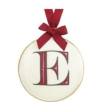 Enamel Letter Decoration