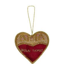 Jewel Heart Decoration