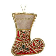 Jewel Stocking Decoration