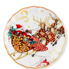 Santa Sleigh Plate