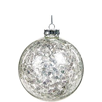 Sequin Bauble Tree Decoration