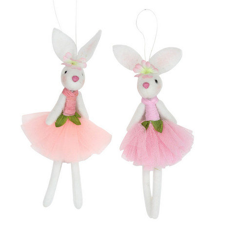 Ballerina Easter Bunny Ornaments, ${color}