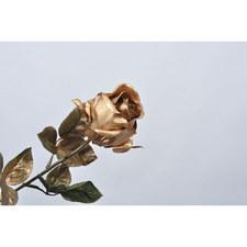 Silk Metallic Rose
