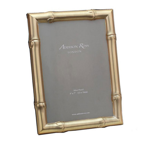 Wide Bamboo Photo Frame 4x6, ${color}