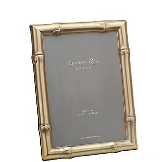 Wide Bamboo Photo Frame 4x6