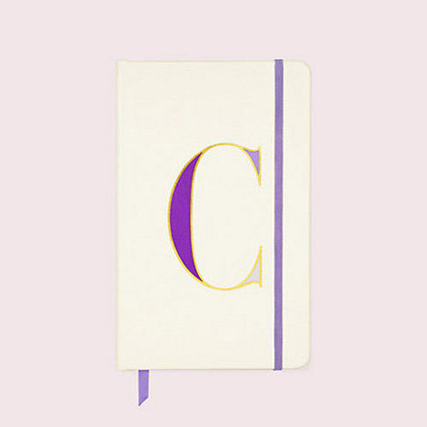 It's Personal Initial Notebook, ${color}