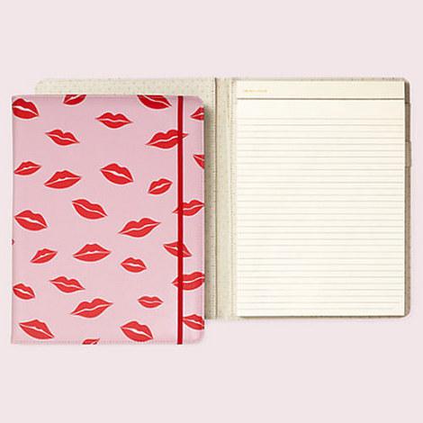 Lips Notepad Folio, ${color}
