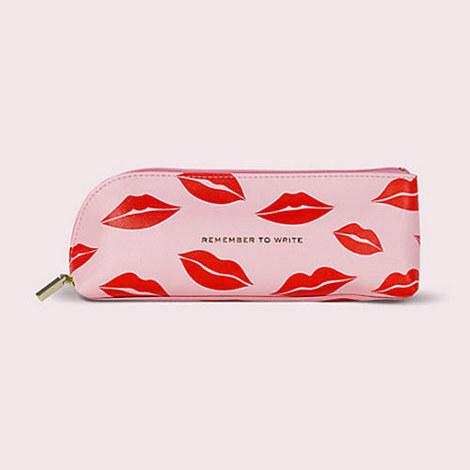 Lips Pencil Case, ${color}
