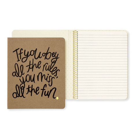 Obey The Rules Notebook, ${color}