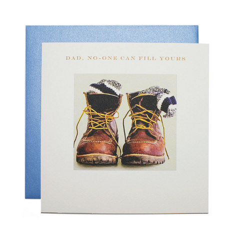 Father's Day Boots Card, ${color}