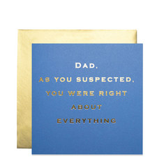 Father's Day Right Card