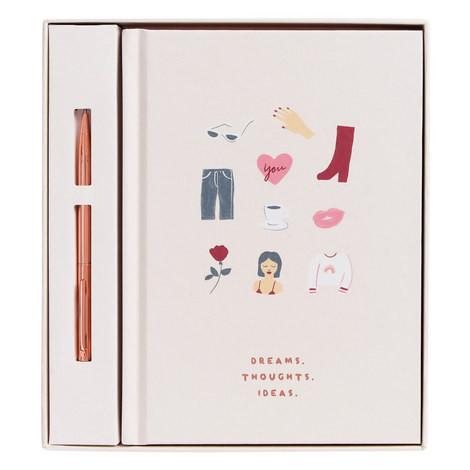 A5 Notebook Gift Set, ${color}