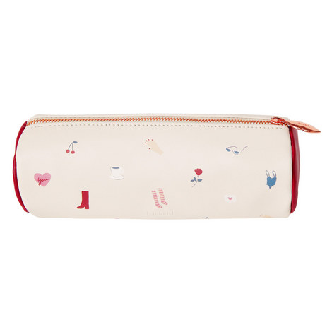 Leather Tube Pencil Case, ${color}