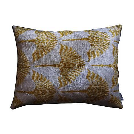 Silk Velvet Cushion, ${color}