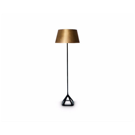 Base Brass Floor Lamp, ${color}