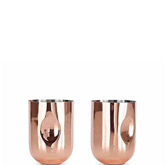 Plum Moscow Mule Glasses Set