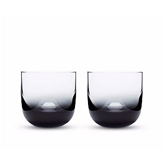 Tank Black Whiskey Glasses Set