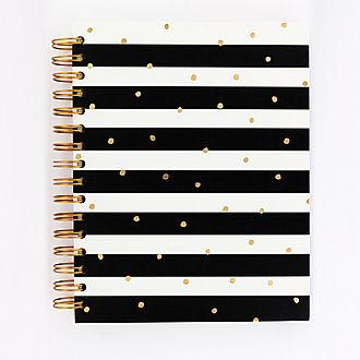 Monochrome Stripe Notebook