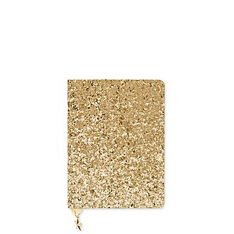 All That Glitters Gold Sequin A6 Notebook