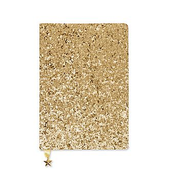 All That Glitters Gold Sequin A5 Notebook
