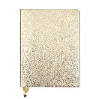 All That Glitters Light Gold Journal