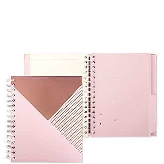 Graphic Pink A5 Notebook