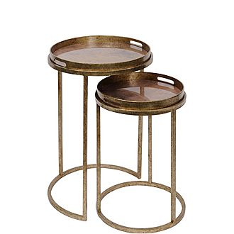 Side Table Set of Two