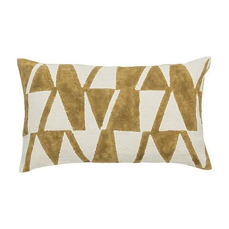 Jaipur Block Print Cushion, ${color}
