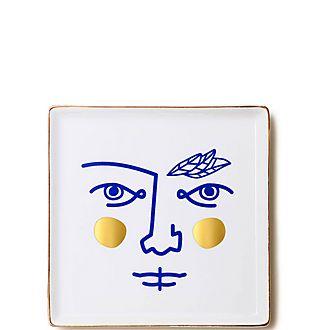 Janus Warrior Ceramic Tray