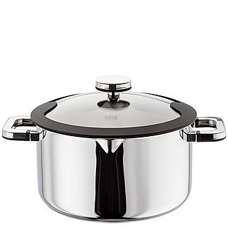 Stay Cool Draining Casserole Pan