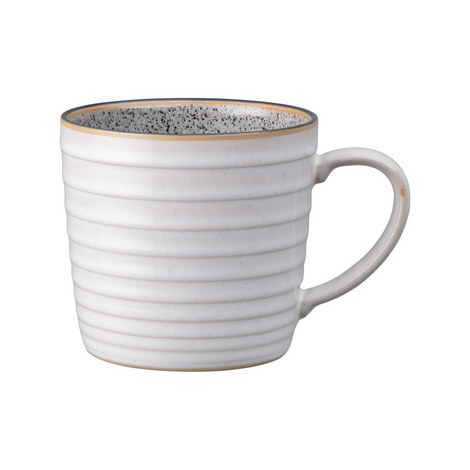 White Ridged Mug, ${color}