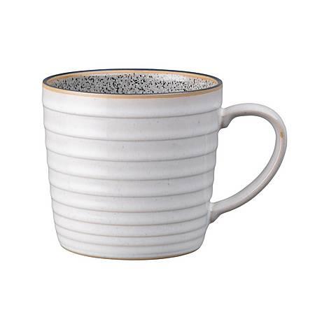White Ridged Mug, ${color}