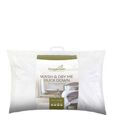 Wash & Dry Me Duck Down Pillow