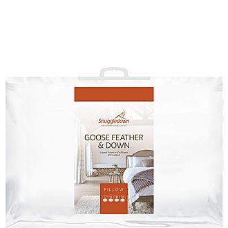 Goose Feather and Down Pillow