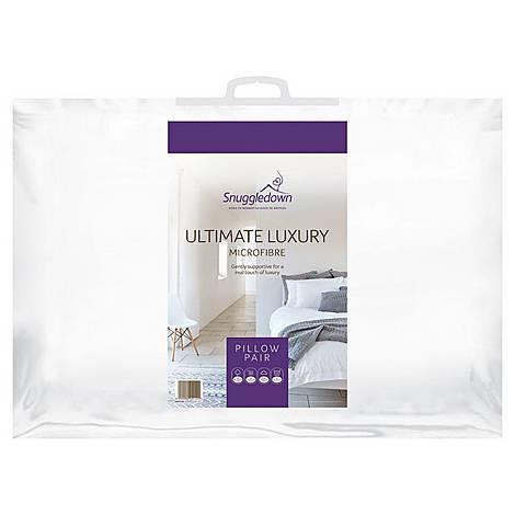 Ultimate Luxury Microfiber Blend Pillow Pair, ${color}